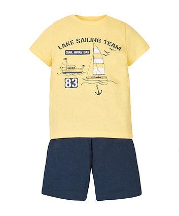 Sailor T-Shirt and Shorts Set