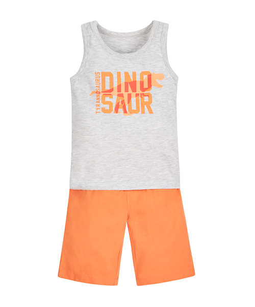 Dinosaur Vest and Shorts Set