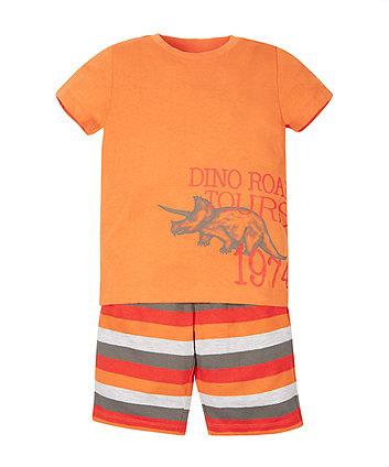 Dinosaur T-Shirt and Shorts Set