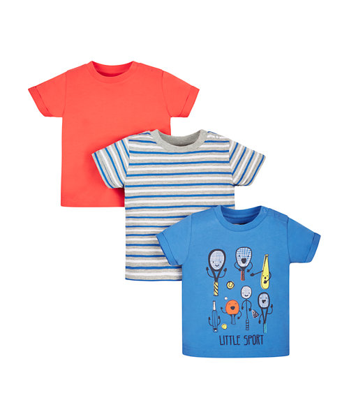 Sporty T-Shirts - 3 Pack