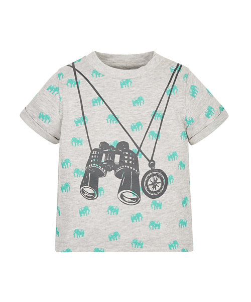 Binoculars and Compass T-Shirt
