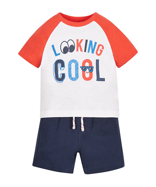 Looking Cool T-Shirt and Shorts Set