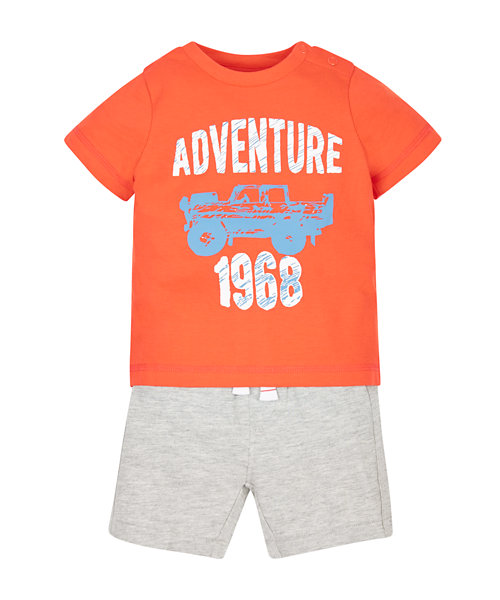Adventure T-Shirt and Shorts Set