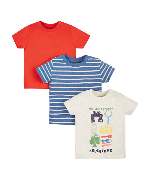 My Little Garden T-Shirts - 3 Pack
