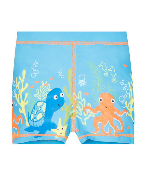 Sea Scene Swimming Trunks