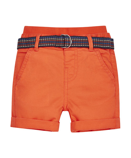 Ribwaist Red Cord Chino Shorts