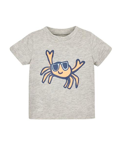Crab Print Tee