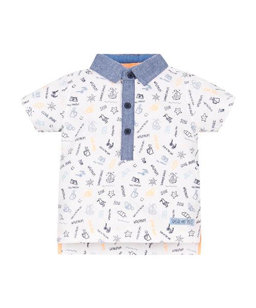 Summer Print Polo Shirt