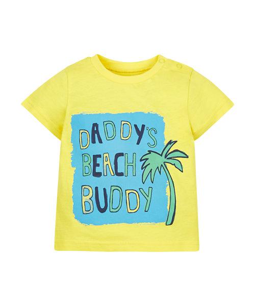 Daddys Beach Buddy Tee