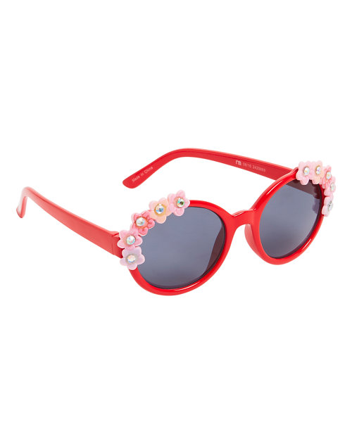 Red Flower Sunglasses