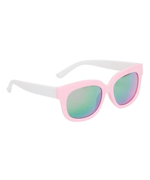 Pink Mirror Lense Sunglasses