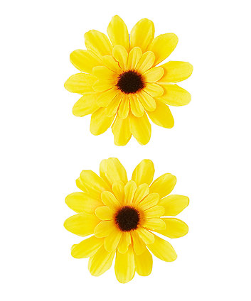 Sunflower Croc Clips - 2 Pack