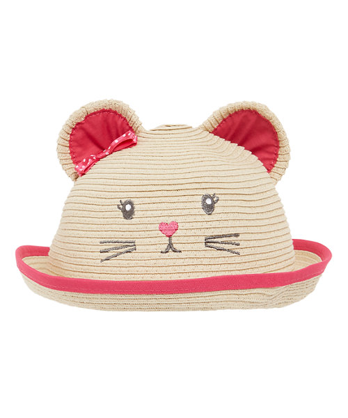 Novelty Mouse Straw Hat