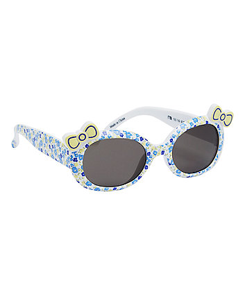 Floral Bow Sunglasses