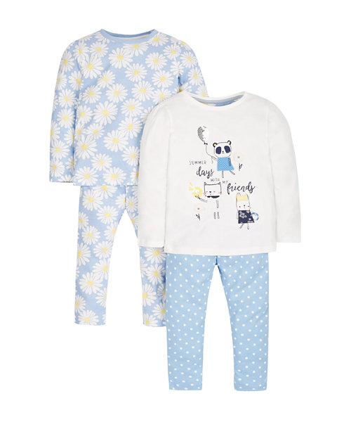 Daisy Skinny Pyjamas - 2 Pack