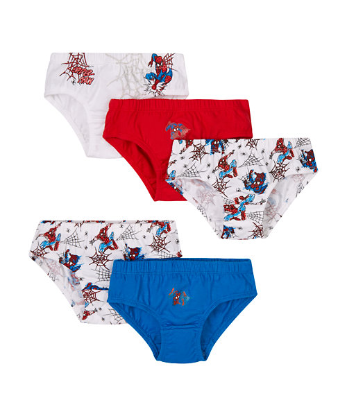 Marvel Spiderman Briefs - 5 Pack (18-24 months)