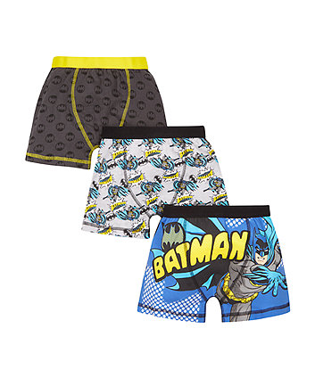 Dc Batman Trunks - 3 Pack -(5-6 years)