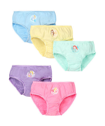 Disney Princess Briefs - 5 Pack