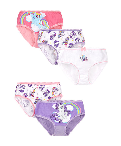 My Little Pony Briefs - 5 Pack