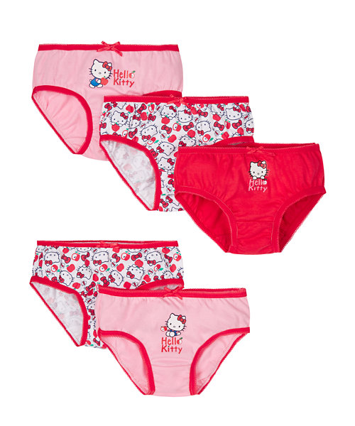 Hello Kitty Briefs - 5 Pack