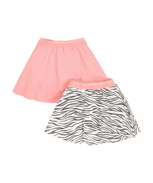 Jersey Skirts - 2 Pack