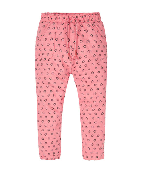 Pink Floral Hareem Trousers