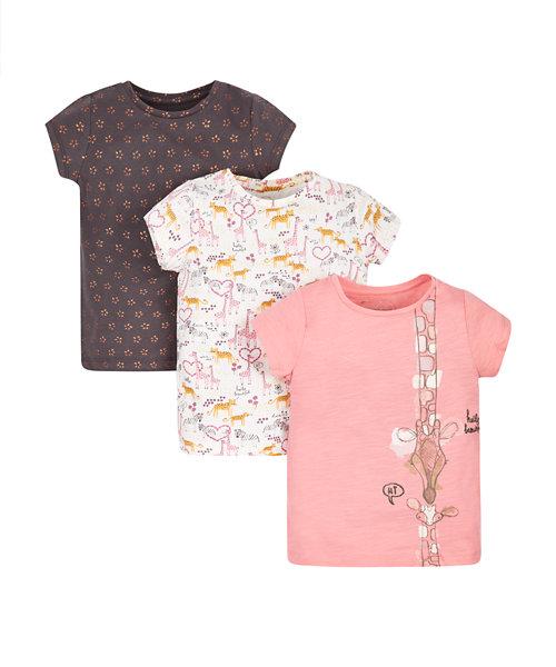 Safari T-Shirts - 3 Pack
