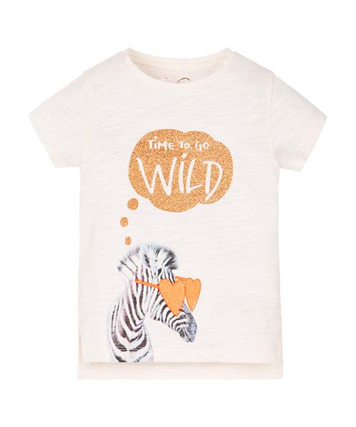Go Wild Zebra T-Shirt