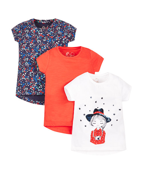 Western T-Shirts - 3 Pack