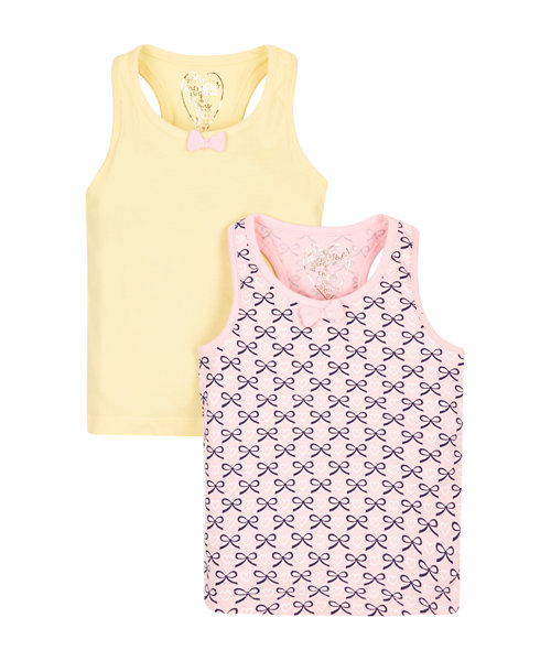 Yellow and Pink Vests - 2 Pack