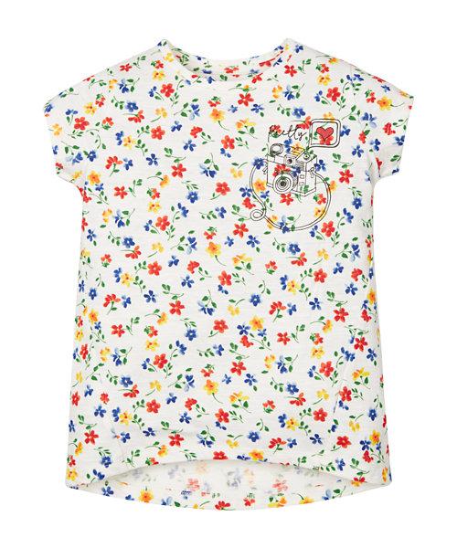 Floral Camera T-Shirt
