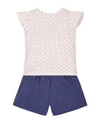 Geo T-Shirt and Shorts Set