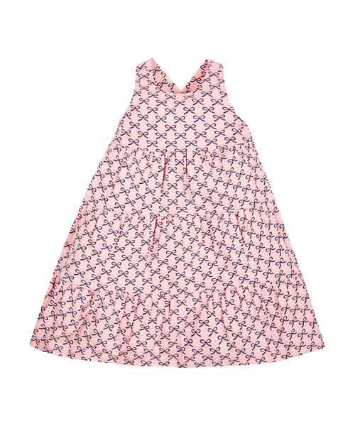 Bow Tiered Dress