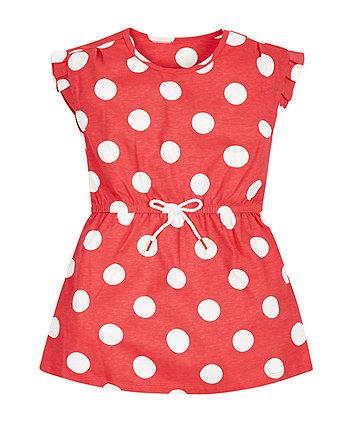 Red Spotty Dress
