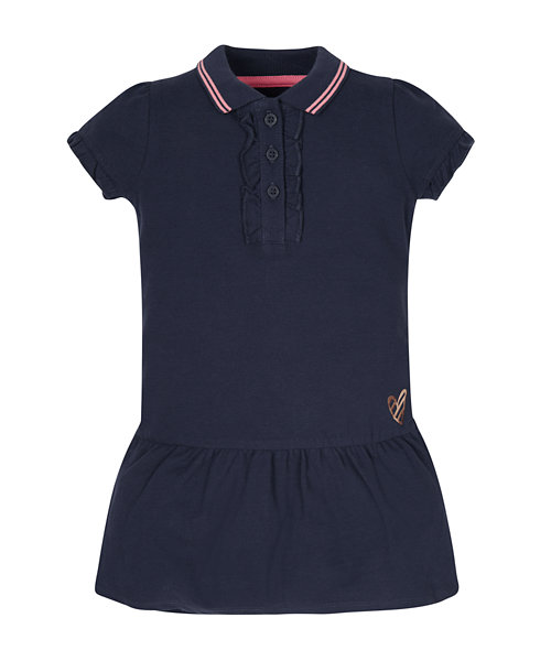 Navy Polo Dress