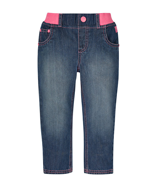 Ribwaist Denim Jeans