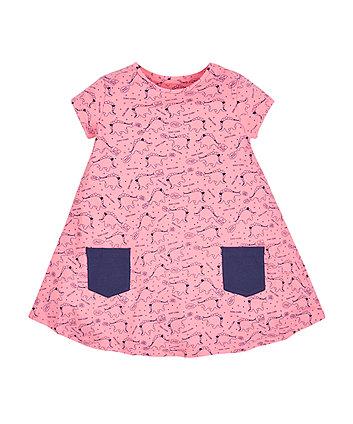 Dinosaur Printed Dress