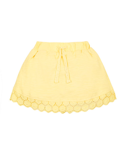 Sunshine Yellow Skort