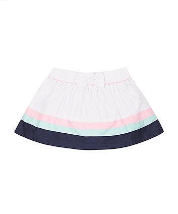 Stripe Colour Block Skirt -(6-9 months)