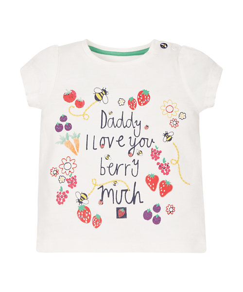 Daddy I Love You Berry Much T-Shirt