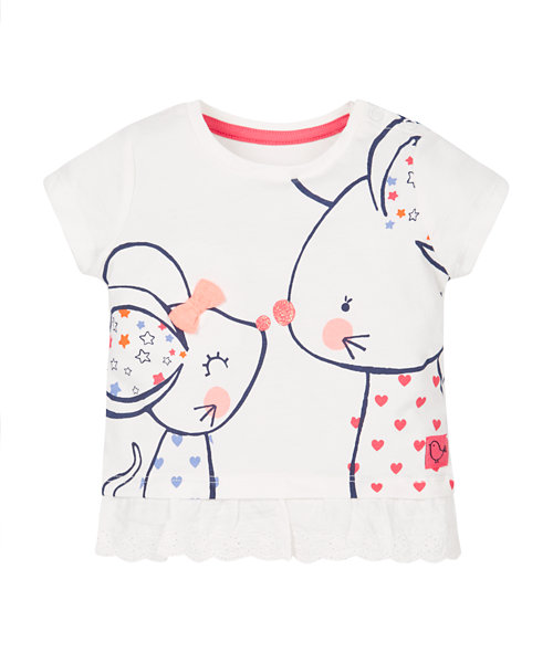 Mum and Baby Mouse T-Shirt