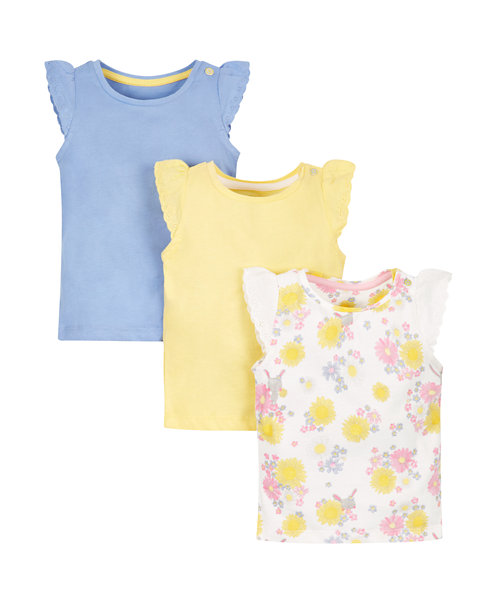 Floral Vests - 3 Pack