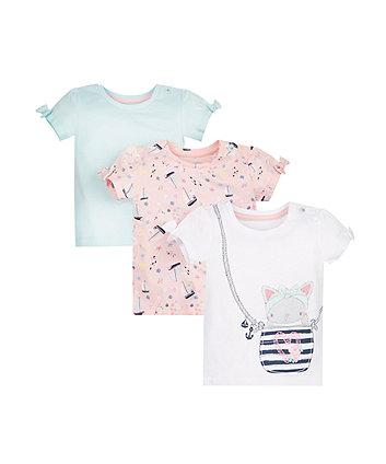 Cat T-Shirts - 3 Pack