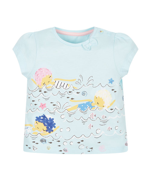 Swimming Girls T-Shirt