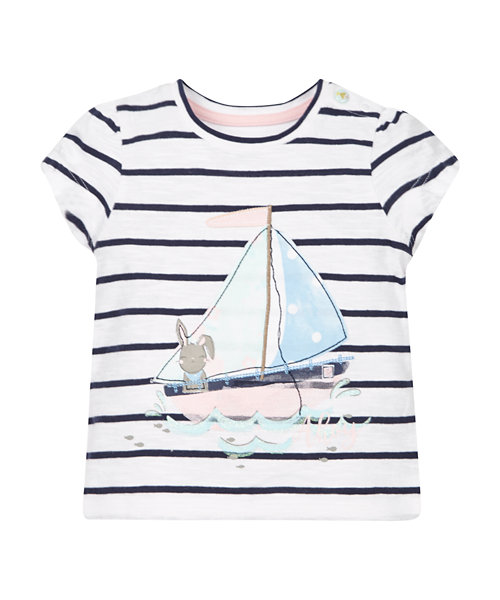 Stripe Boat T-Shirt