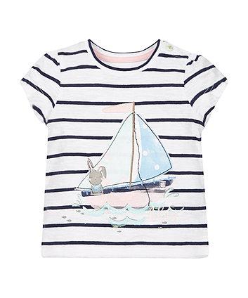 Stripe Boat T-Shirt