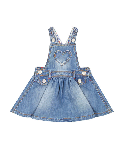 Denim Pinny Dress