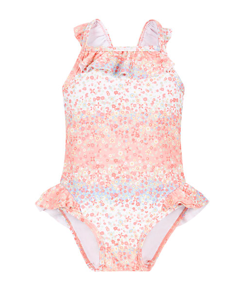 Floral Frill Swimsuit