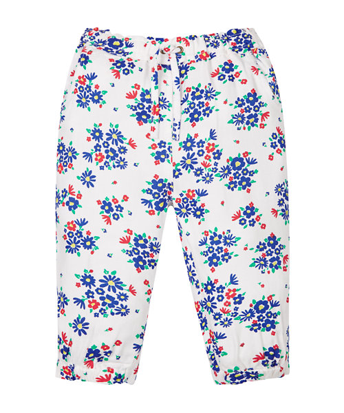 Flower Harem Trousers