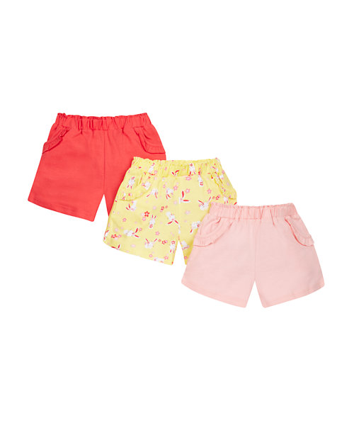 Bunny Shorts - 3 Pack